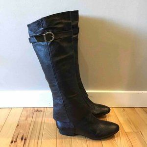 Chinese Laundry Riding Boots Black Knee High 8